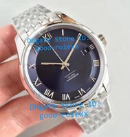 Top Factory Mens Automatic Watches Men Watch Blue Dial Miyot...