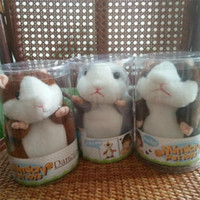 2017 Talking Hamster Mouse Pet Plush Toy Hot Cute Speak Talk...