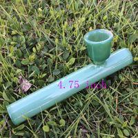 Tubo di vetro di vetro del chiodo dell'olio del tubo dell'olio del tubo di vetro del tubo di olio verde del tubo di vetro da 4,75 pollici trasporto libero