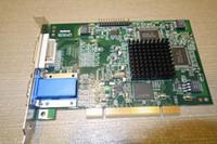 Оригинальная двойная видеокарта Marox PCI F7003-0301 REV. Промышленная плата, проверенная на 100%, работает, используется, в хорошем состоянии