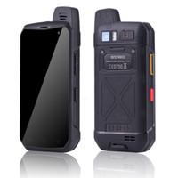 4G LTE Mfunksprechgerättelefon UNIWA B6000 Octa-Core 4 GB RAM 64 GB ROM 5000mAh NFC-Dual-Kamera Android 6.0 IP68 wasserdichtes Smartphone Hot Verkauf