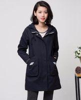 Donne qiu dong han edizione business inglese nuova moda boutique personalità lungo trench cotone 678 / M-4xl