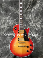 In Stock- Custom Electric guitar in Cherry burst color with ...