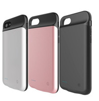 Power bank iPhone case 5000 mAh external battery case for 7p...