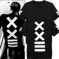Magliette uomo moda hba Maglietta hip hop Maglia metallica uomo t shirt bandana Stampa maglietta grafica per uomo