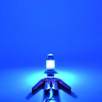 Cooleeon kalt blau LED Auto Nebelscheinwerfer H4 H11 H7 100W Auto Signal Glühbirnen Kopf dekorative Lampen für 12V 24V Fahrzeuge
