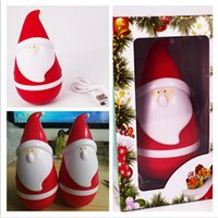 Nouveau Hot Sell Portable mini bluetooth sans fil Santa Claus Christmas Father tumbler roly-poly haut-parleur Christmas Speaker pour Noël