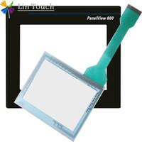 NEU PanelView 600 2711-T6C1L1 2711-T6C2L1 2711-T6C20L1 2711-T6C3L1 HMI-SPS TouchScreen UND Front-Etikett Film Touchscreen und Frontlabel