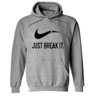 2017 Hot Casual Hoodies Men Sweatshirts Brand Print JUST BRE...