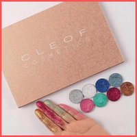 Newest Makeup Eyes CLEOF Cosmetics 24 colors Glitter Eyeshad...