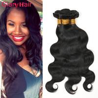Glary Peruvian Hair Body Wave Weaves Best Vendi Brasiliani Virgin Virgin Bundles 6pcs Non trasformato Remy Capelli umani Estensioni Malese Indiano indiano