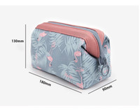2017 bolsa de almacenamiento multifuncional Lady MakeUp Pouch Cosmético impermeable Maquillaje Bolsa Embrague Artículos de tocador Organizador de viaje Bolso ocasional