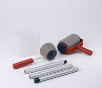 cheap pintar facil handle handel paint roller runner roller paint brush detachable portable home painting brush tool