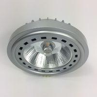 Angle de faisceau de petite taille 24 degrés LED Ar111 ES111 GU10 / G53 base ampoule de rechange 12 watts remplacement de l'ampoule halogène 75w