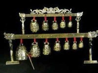 Figurines & Miniatures Friendly Brass Bells Chinese Tibet Dragon Glockenspiel Chimes In Ancient Chinese Musical Instrument Metal Handicraft