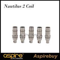 Aspire Nautilus 2 Spulen 0,7 Ohm Ersatz Zerstäuber Kopf 0,7 1,6 1,8 ohm BVC Spule für Aspire Nautilus Zerstäuber Nautilus 2 Tank 100% Authentic