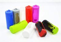26650 Batería Caja protectora de silicona Cubierta de silicona Caja de soporte de gel de sílice suave Protector de piel de goma para E CIG Baterías de Li-ion Mods Vape