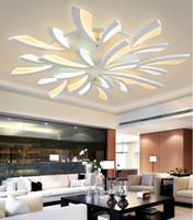 LED Deckenleuchten Für Schlafzimmer Smart Deckenleuchten Acryl Aluminium  Körper LED Lampe Decke Leben