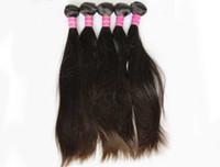 LUMMYLes cheveux brésiliens non transformés tissent des extensions de cheveux indiens de Malaisie péruvienne droites 3 faisceaux noir naturel