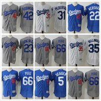 6908673d9a8 ... reduced 1988 throwback los angeles dodgers jerseys baseball 33 eric  davis 34 fernando valenzuela 44 darryl