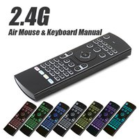 New Fly Air Mouse 2. 4G MX3 Wireless Keyboard Backlit With Ba...