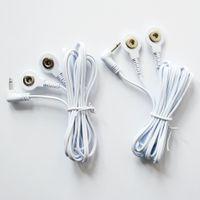 Des dizaines de fils de remplacement - Deux connecteurs à pression, mini-jack 2,5 mm, style à pression 3,5 mm