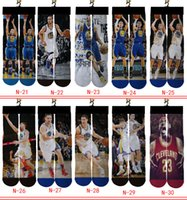 Stockings Boys Girls Middle Socks Basketball Running Sport C...