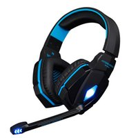 Gaming Headphones with Mic LED light KOTION EACH G4000 Cuffie stereo Headset Controllo del volume PC Game Deep Bass