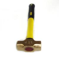 2002 Non Screcting Латунный кулинарный молоток, Светерный молоток, Инструменты безопасности