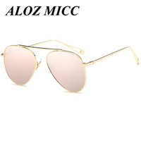 ALOZ MICC New Fashion Women Oval Sunglasses New Vintage Meta...