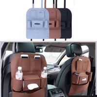 Automobilsitz Aufbewahrungstasche Auto Auto Filz deckt Rücksitz Organizer Isolierung vielseitig Multi Halter Pocket Storage Container Taschen