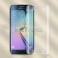9H Härte Anti-Scratch für Samsung Galaxy S7 0,2 MM Full Screen gehärtetes Glas Protector Curved Displayschutzfolie mit Crystal Box DC0502