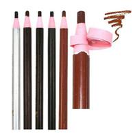 3Pcs wasserdicht Augenbraue-Bleistift-Vergrößerer Make-up Lidschatten, Bleistift, Stift Permanent Eye Liner Brow Bleistifte Farbe kosmetisches Werkzeug Make-up
