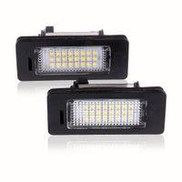 الصمام لوحة ترخيص أضواء SMD3528 6000K رقم اللوحة الضوء على BMW E82 E88 E90 E92 E93 E39 E60 E70 M5 سيدان X5 E71 E72 X6