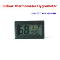 Цифровая температура и влажность индикатор внутреннего термометра Гигрометр