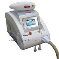 Retrait de tatouage 1064nm 532nm q commuté nd yag Laser machine de détatouage avancée nd yag laser