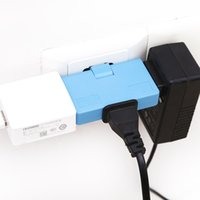 wholesale New Arrival Mini 180 degrees spin charger socket 3...