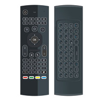 أفضل MX3 الخلفية X8 مصغرة لوحة المفاتيح IR تعلم Qwerty 2.4G لاسلكي للتحكم عن بعد 6axis يطير الهواء الماوس الخلفية لالروبوت التلفزيون مربع