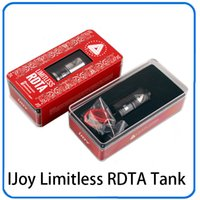Limitless RDTA Tank Drip & Tank 2 in 1 Rebuildable Dripping ...