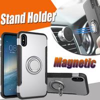 360 스탠드 홀더 하이브리드 킥 보호 다기능 자석 갑옷 커버 케이스 아이폰 (11) 프로 맥스 XS XR X 8 7 6 6S 플러스 내진성