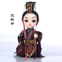 خصائص بكين القصر الامبراطوري السياحة التذكارية تانغ رن فانغ الحرير والحرير دمية هدية حقيبة البريد لإرسال الأجانب إلى الخارج