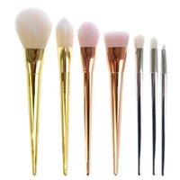 Hot Sale 7 Pieces Set Makeup Brush Set Eyes Shadow Brush Pro...