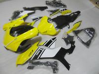 Molde de injeção de alta qualidade kit de carenagem para yamaha yzf r1 09 10 11-14 amarelo preto carenagem set yzf r1 2009-2014 oy20