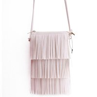 Wholesale- Hot Sale Mini Tassel Women Handbags Messenger Bag ...