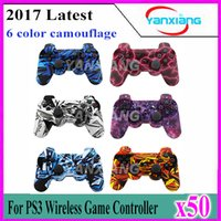 50pcs Wireless Gaming Controller for PS3 - Bluetooth Dualshoc...