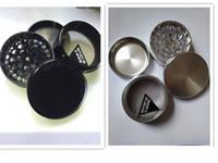 أسود / الشظية SPACE CASE® 4 قطعة الألومنيوم عشب طاحونة متوسطة كبيرة كاشف دخان السجائر طاحونة طاحونة التبغ التيتانيوم شحذ
