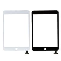 Ipad mini 1 2 siyah ve beyaz için sayısallaştırıcı ile dokunmatik ekran cam panel