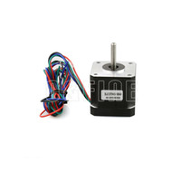 Freeshipping 5 unids / lote 42 mm 1.68A 4.0 kg.cm Motor paso a paso híbrido de alto torque de dos fases 1684A NEMA17 para impresoras 3D Makerbot REPRAP