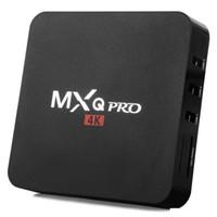1GB + 8GB MXQ 프로 4K 안드로이드 TV 박스 Amlogic S905W 쿼드 코어 Android7.1 TX3 미니 스마트 TV 상자 미니 셋톱 박스