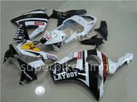 3 free gifts Motorcycle Fairing kit For HONDA CBR900RR 02 03 CBR 900RR 954 2002 2003 ABS Fairings set White Black AF17